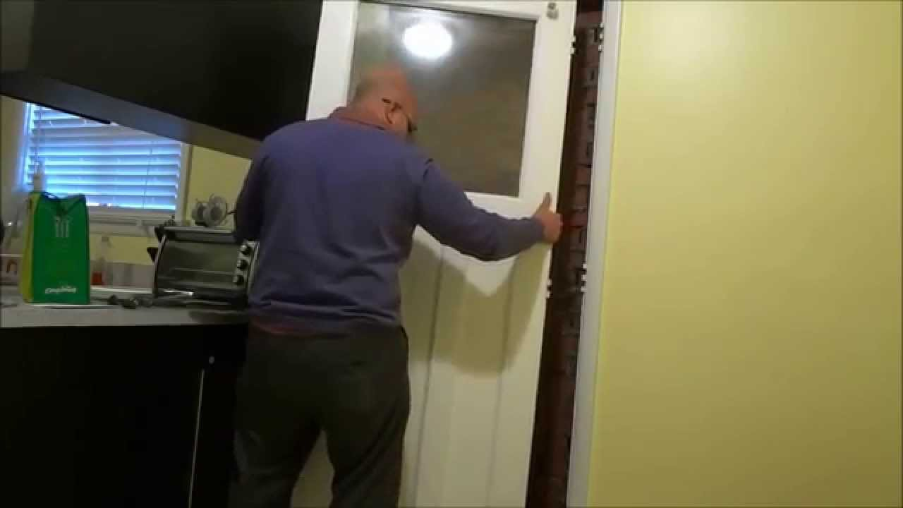 How To Remove An Exterior Door From Its Hinges   YouTube Part 88
