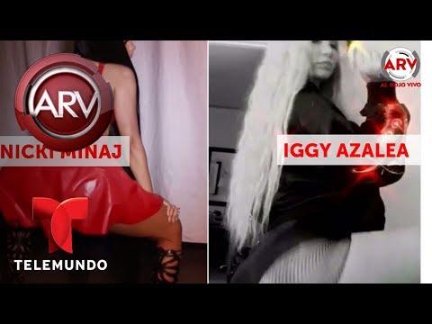 El trasero de Iggy Azalea revienta la internet | Al Rojo Vivo | Telemundo