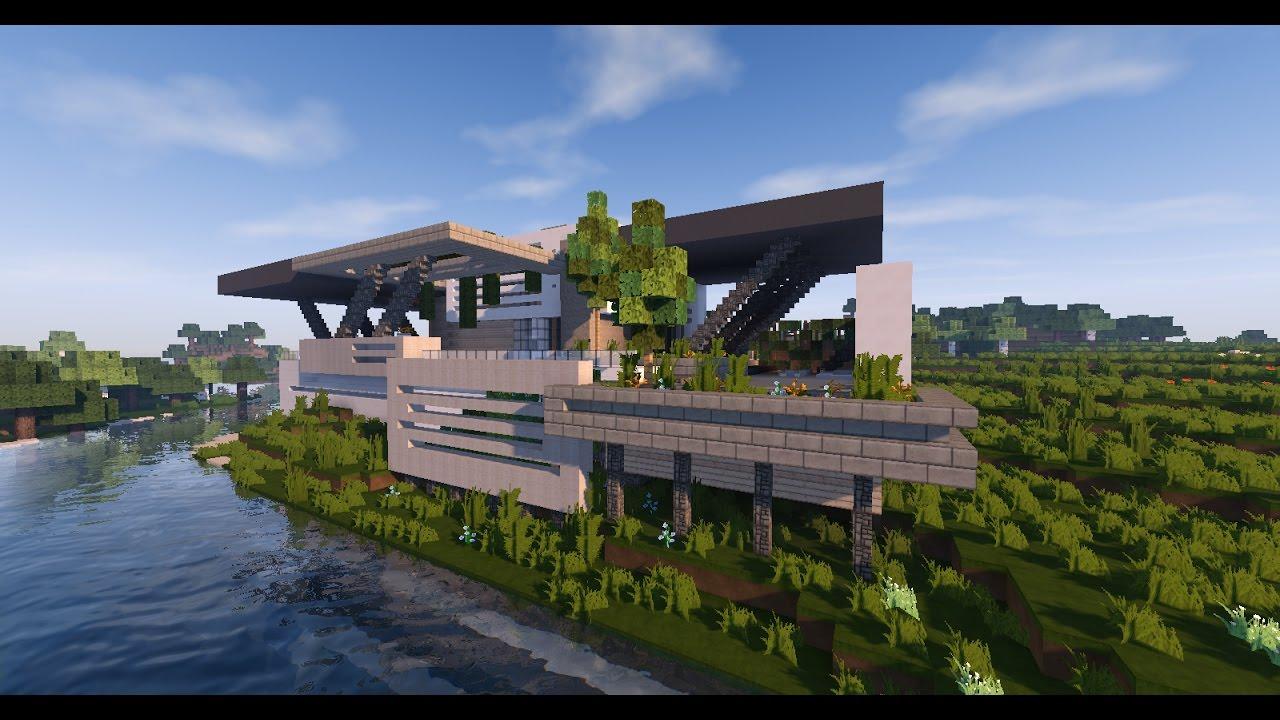 Visite d\'une maison moderne by xRoach - YouTube