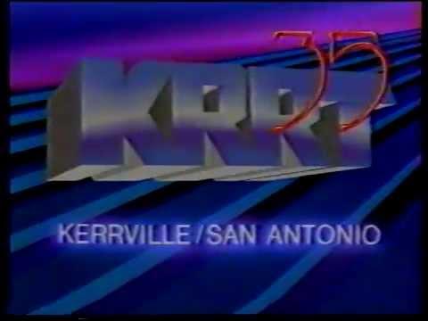 KRRT 35 San Antonio 1986 Station ID