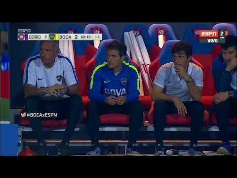 Gol de Maroni (1-2) / Cerro Porteño 1 – 2 Boca Juniors – Amistoso Internacional 2017
