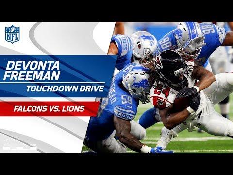 Devonta Freeman is the MVP on Atlanta's TD Drive! 🏆 | Falcons vs. Lions | NFL Wk 3 Highlights