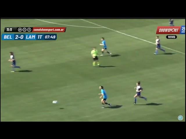Belgrano 12 - 0 Lamadrid Primera C Femenino de AFA: Los goles del primer tiempo