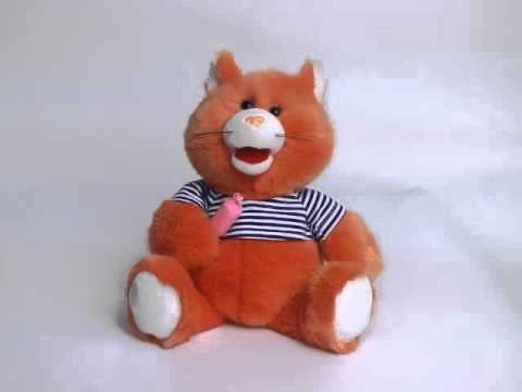 Singing and dancing musical toy FLUFFY CAT (CNT-0019)