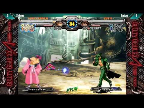 NEC 15 Guilty Gear XX Accent Core +R Zidane vs Satou  