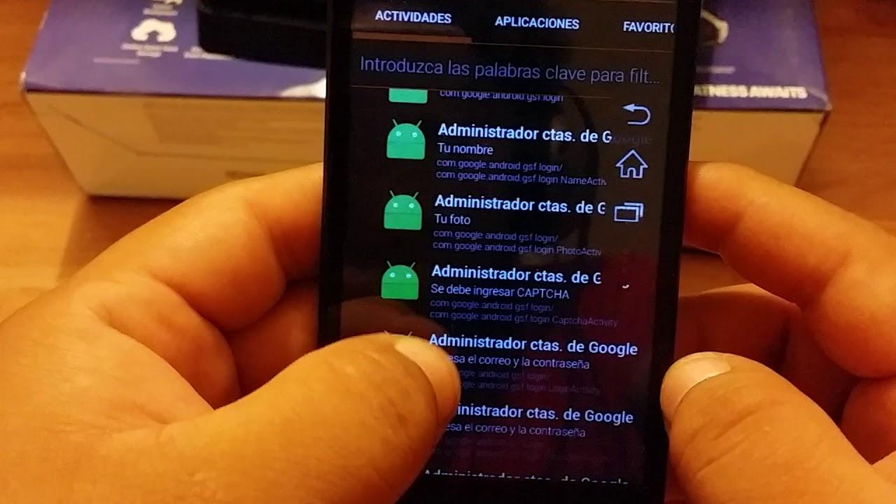 Coolpad 3622A Quitar cuenta Google 2017 Fácil Eliminar cuenta de Google  Antirrobo