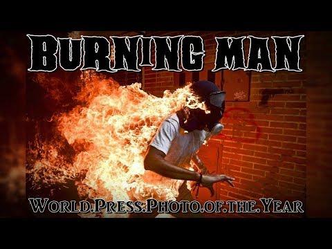 World Press Photo of the Year: Burning Man