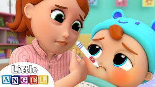 Baby is Sick | Twinkle Twinkle Little Star Song | Little Ang...