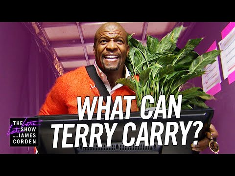 What Can Terry Carry? w/ Terry Crews