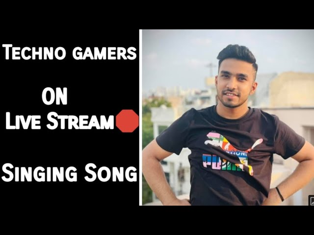 Techno Gameez Singing song on live stream Game on and Jena dil lutya/Star Abdullah