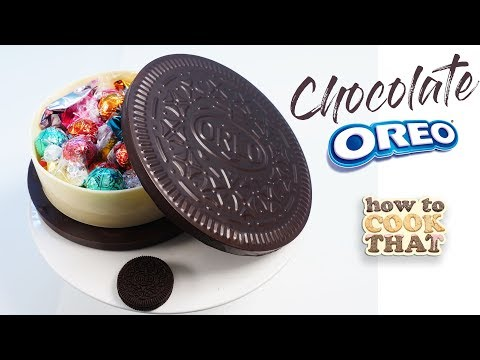 Easy GIANT Chocolate Oreo box How To Cook That Ann Reardon