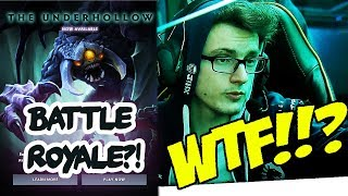 WTF Miracle- playing The Underhollow - New BATTLE ROYALE Custom Game for Dota 2