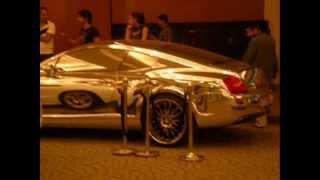 White gold Bentley, Mall of the Emirates, Dubai, UAE