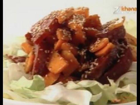 Beet & Carrot Salad - Sanjeev Kapoor - Khana Khazana