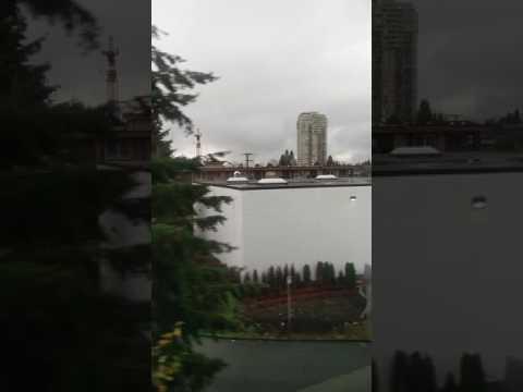 Vancouver Sky train journey 2