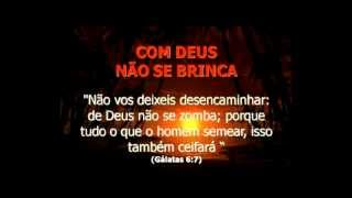 Gambar cover COM DEUS NÃO SE BRINCA - NARRADO