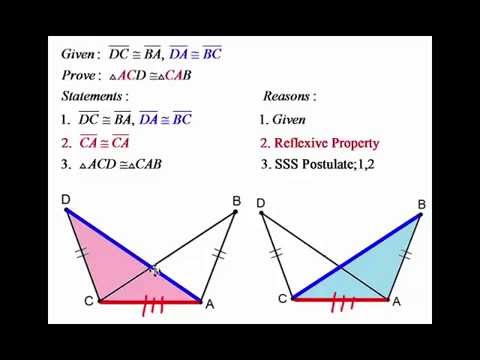Geometry 4 7 Congruence In Overlapping Triangles
