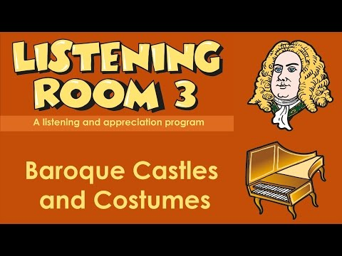 Baroque Castles and Costumes - from Listening Room 3 published by Busfhire Press