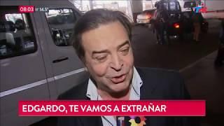 Así recordamos a Edgardo Antoñana, el querido conductor de...