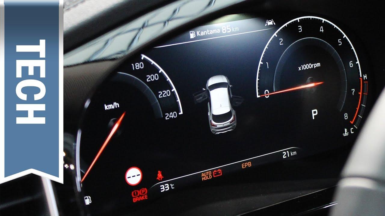 Kias erster digitaler Tacho (12,3 Zoll) im Kia XCeed im