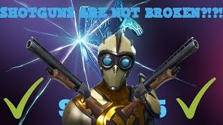 FORTNITE SHOTGUNS WERE NEVER BROKEN! (9 DAMAGE HIT GLITCH/BUG) FORTNITE CONSPIRACY THEORY SEASON 5