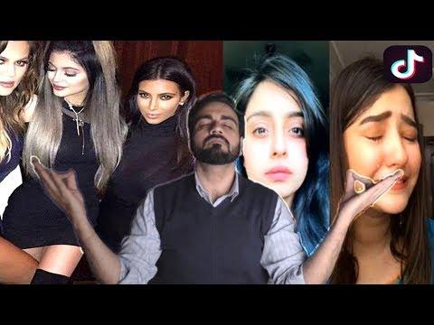 Tik Tok ke janbaaz | Kylie Jenner & Kim Kardashian ki Tashreef  per Tabsara