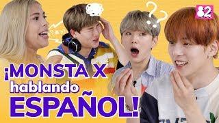 Comunicación descompuesta entre latinas y coreanos I Teléfono descompuesto w/ MONSTA X