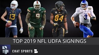 UDFA Tracker: The Top Undrafted Free Agent Signings After The 2019 NFL Draft