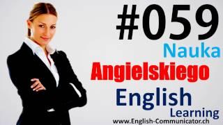 #59 Kurs języka angielskiego Słownictwo English Jarosław Mława Siedlce Żagań KET DELTA