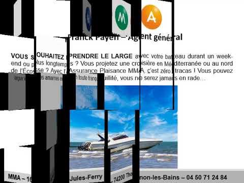 Assurance bateau à moteur Thonon-les-Bains avec MMA