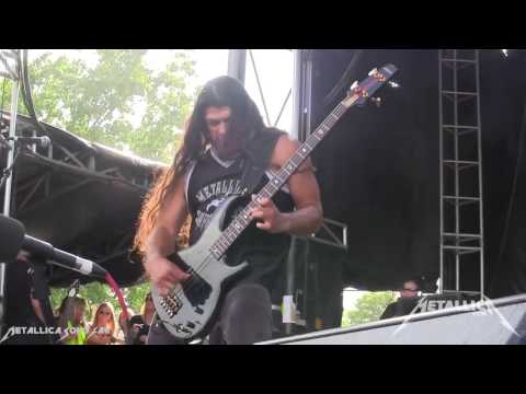 Robert Trujillo   Anesthesia Pulling Teeth Live Detroit 08 06 13 HD