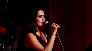 "Sona mohapatra performs ""songs for the soul"" at times literary festival 2014, mumbai with her band & ram sampath."