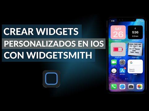 Cómo Crear Widgets Personalizados en iOS con Widgetsmith
