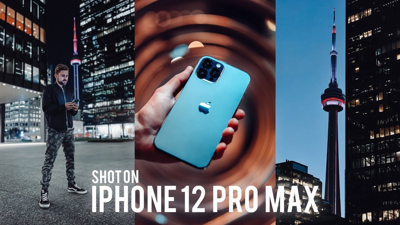 iPhone 12 Pro MAX CAMERAS | Is the bigger sensor better in low light?