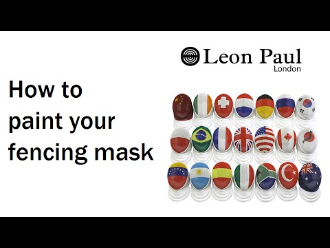 Leon Paul - How to paint your fencing mask