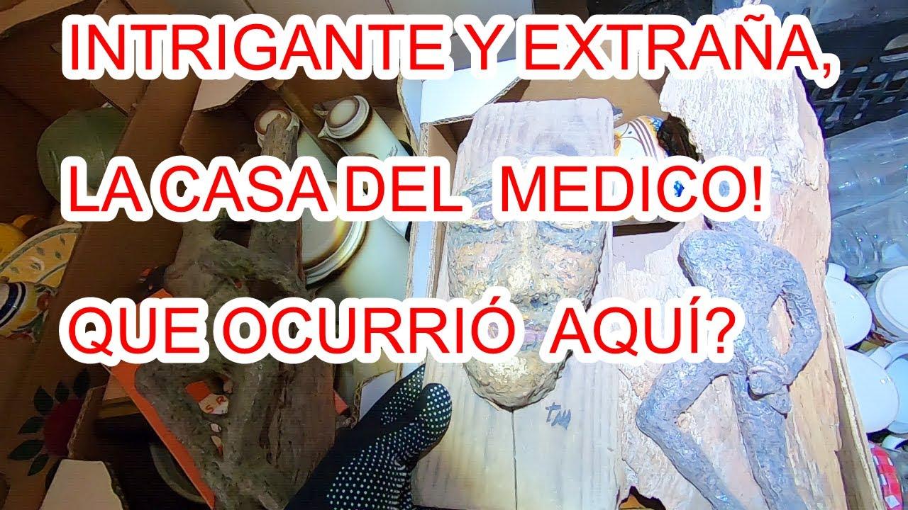 INTRIGA EN LA CASA DEL MEDICO! QUE OCURRIRÍA?  URBEX WOMAN