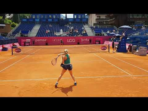 Eugenie Bouchard in Gstaad 2018