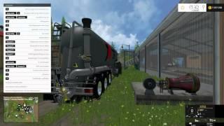Heue stelle ich euch den Feldbinder Guelle Zubringer V 1.0 SP Mod für Landwirtschafts Simulator 15 vor.