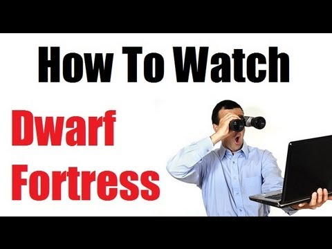 How To Watch A Dwarf Fortress Video