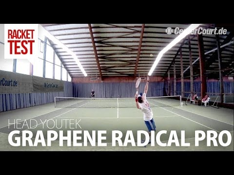 Racket-Test: Head YouTek Graphene Radical Pro