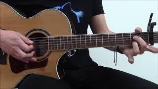 Adaptación del tema de Simon & Garfunkel para guitarra acústica.