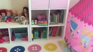kids playroom tour / toys organization / ikea furniture