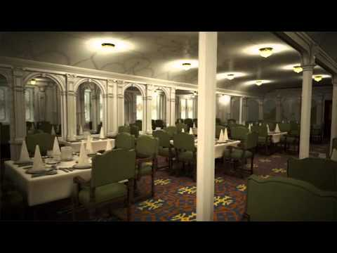 Titanic II   First Class Dining Room Part 51