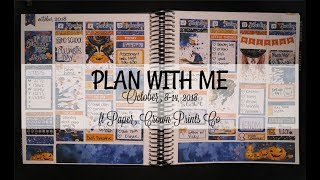 Plan With Me | ft Paper Crown Prints Co - Witches