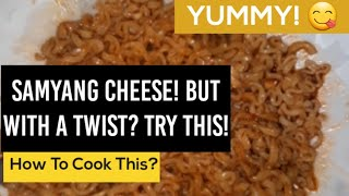 Samyang Cheese Noodles With A Twist?  You Should Try This (Hot Chicken Flavor Ramen)