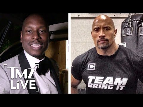 The Rock & Tyrese: 'The Fast & Furious' Feud Continues | TMZ Live