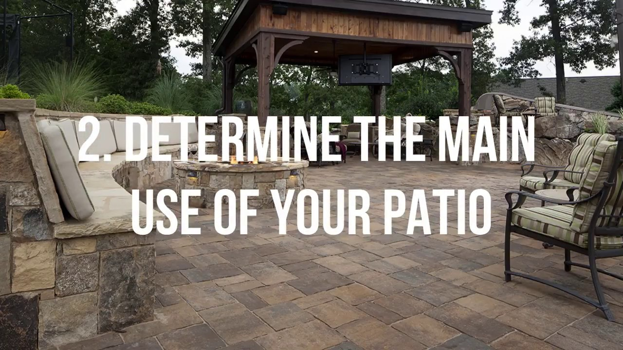 Creating A Patio Paradise   Nitterhouse Masonry