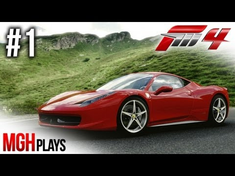 Mgh Plays: Forza Motorsport 4 - Becoming a Champion - Episode #1