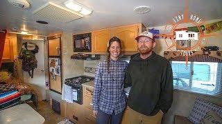 Minimalist Travel Nurse & Seaman's Tiny House On Wheels ~ Full Tour
