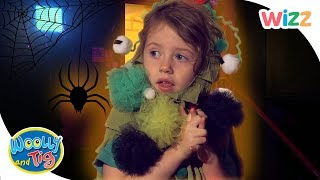 Woolly and Tig  #Halloween Spooky Stories | Full Episodes | Toy Spider | Wizz | TV Shows for Kids